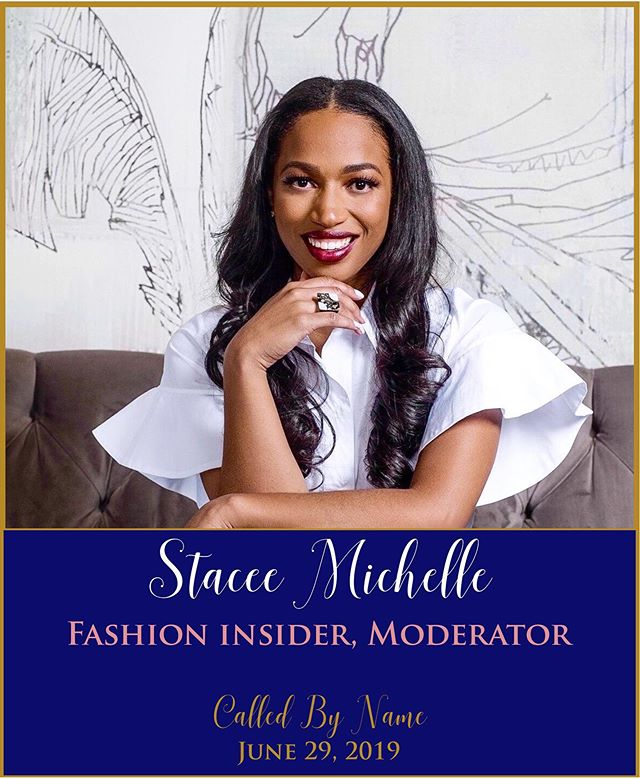 "We are thrilled to have @itsstaceemichelle moderate and share a fashionable mommy style presentation at the Called By Name brunch this year! Stacee Michelle is a published wardrobe stylist and media correspondent. Her magnetic on-air presence has captured the attention of national networks, including E! News, FOX News, CBS, and more. She is routinely tapped by corporate brands and non-profit organization to host special events ranging from conferences and galas, to Super Bowl and Fashion Week. When she's not on-air, you can catch her producing and styling editorials, commercials, or dressing athletes, musicians, business owners, and city influencers as their personal stylist. Her bubbly personality coupled with intimate industry knowledge and perspective makes her the ""go-to"" woman in all things fashion and entertainment! ——— Get your tickets now! Link in bio!"