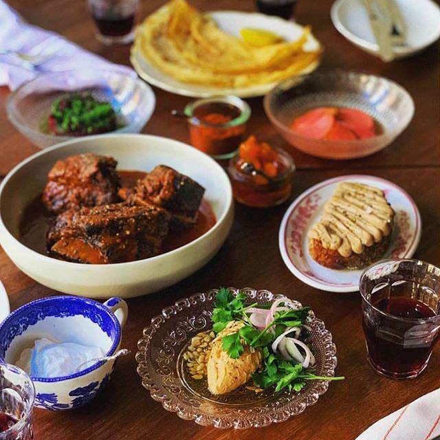 "Tonight we continue our ""Dinner at Agi's"" series celebrating Chef @jeremycooks Sunday night dinners at his Grandmother's house. 3 courses (plus extras) = $45. Link to menu in bio. #theeddynyc #eastvillage #agis #sundaynight #sundaynightsupper #gellert #hungarianfood #porkolt #nokedli #gerbeaudcake #korozottcheese"