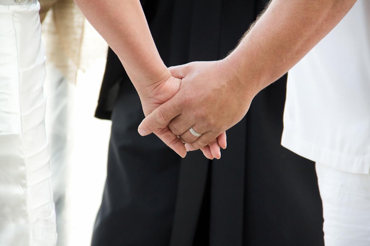 Wedding Couple Bride Groom Ring