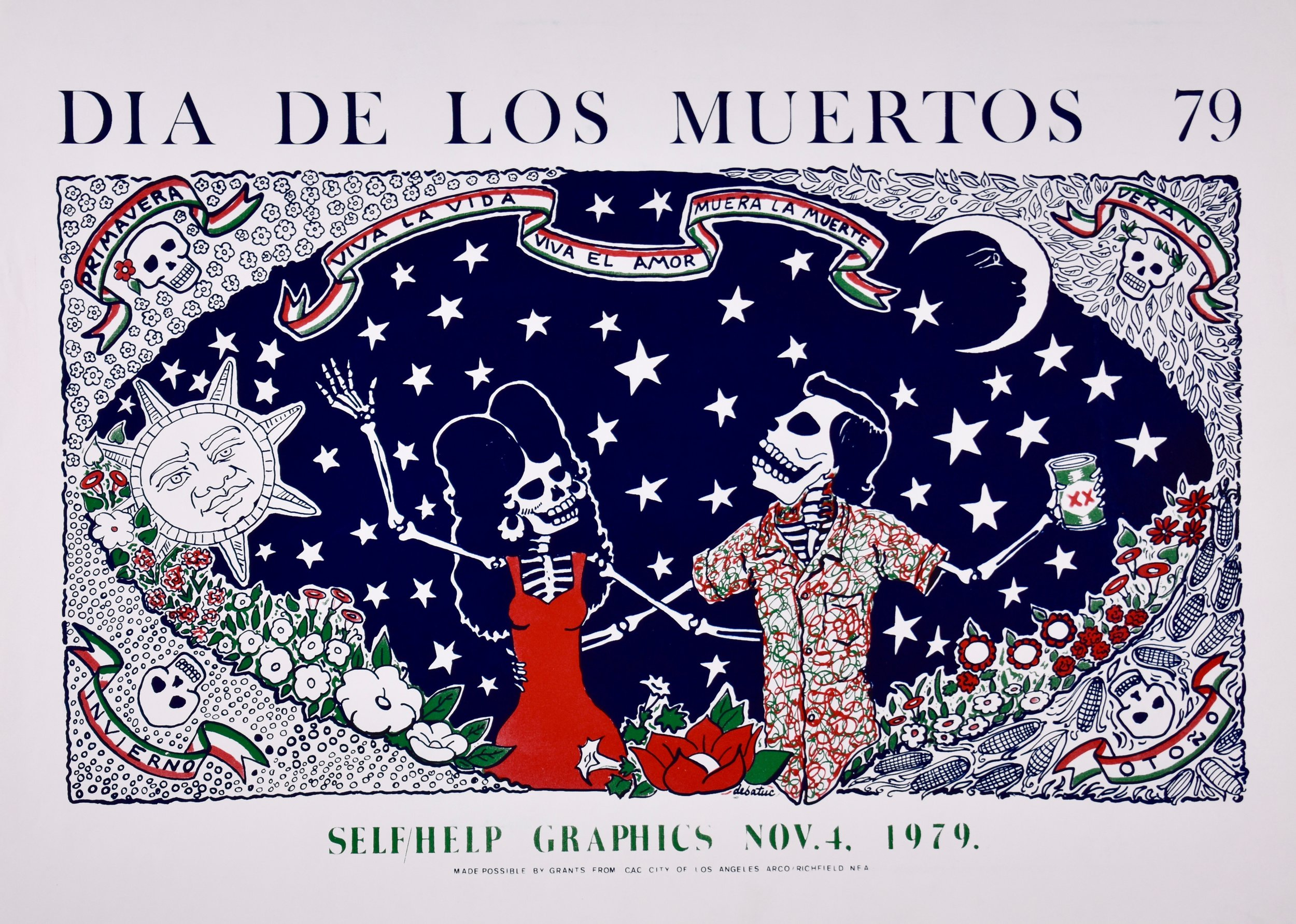 """Four Seasons"" by Alfredo de Batuc, 1979"