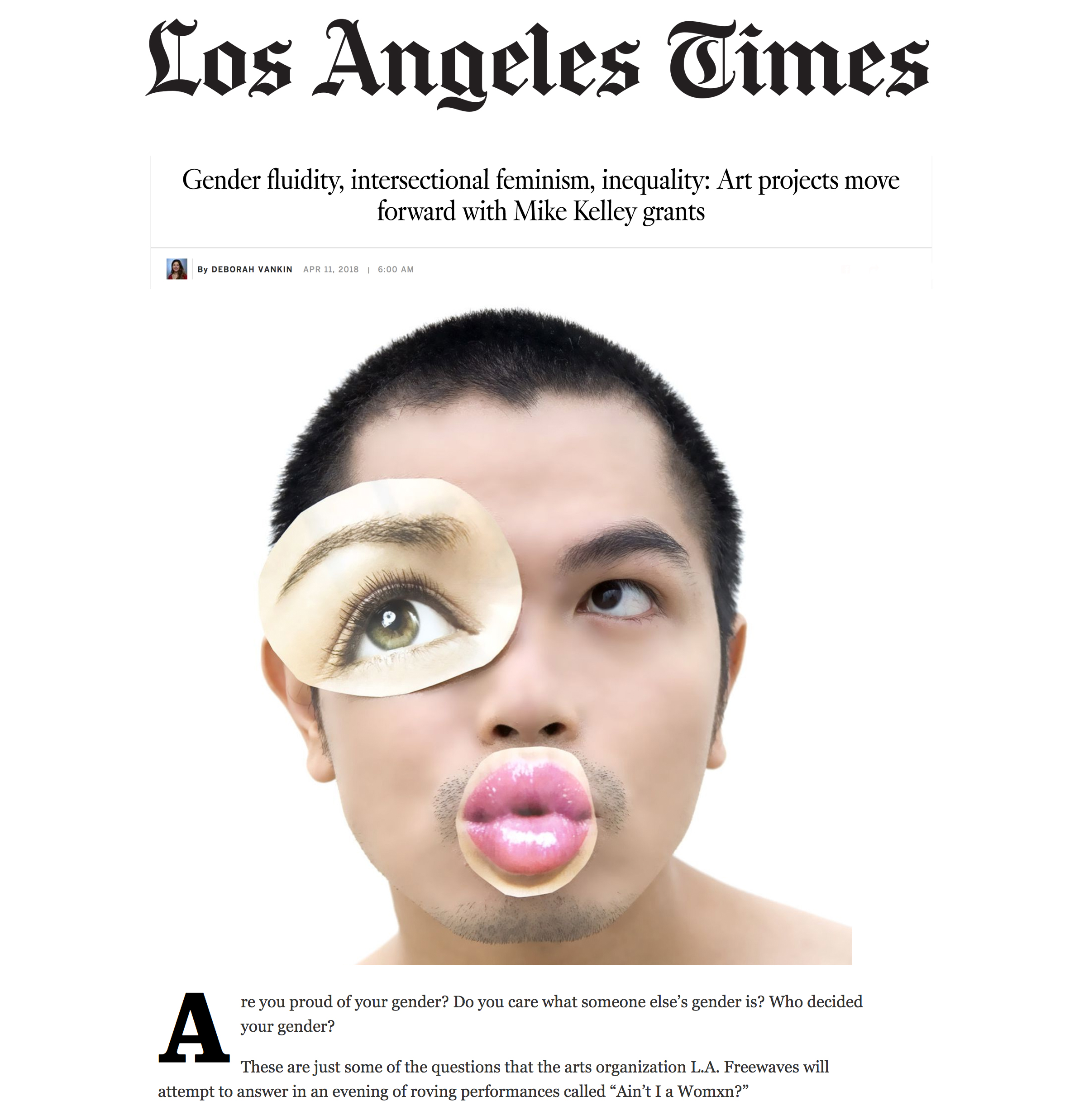 Read more:http://www.latimes.com/entertainment/arts/la-et-cm-mike-kelley- artist-grants-20180411-htmlstory.html