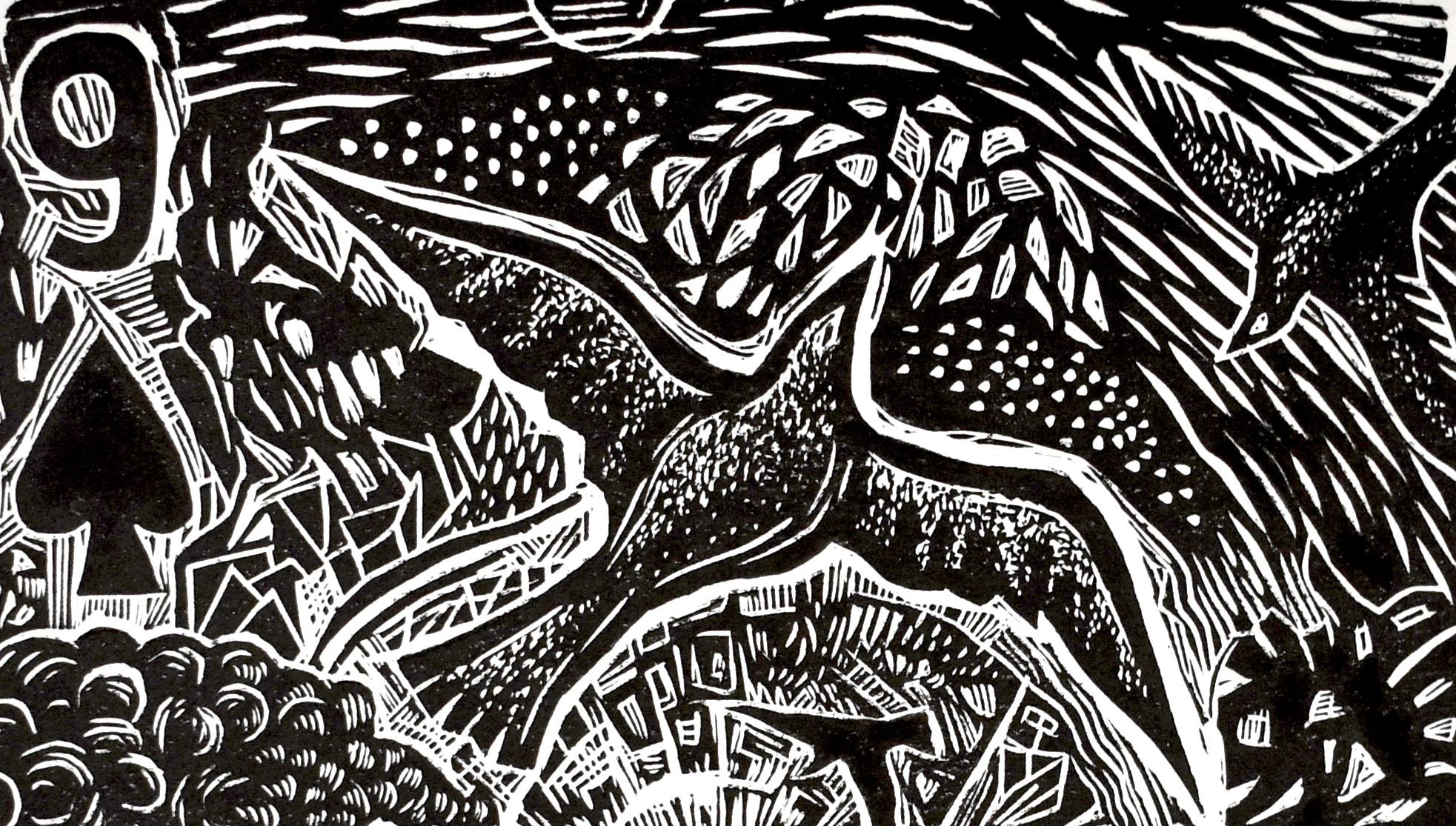 UTOPIA/DYSTOPIA - Curated by Miyo Stevens-GandaraArtwork by Poli Marichal, Utopia (detail), 2019