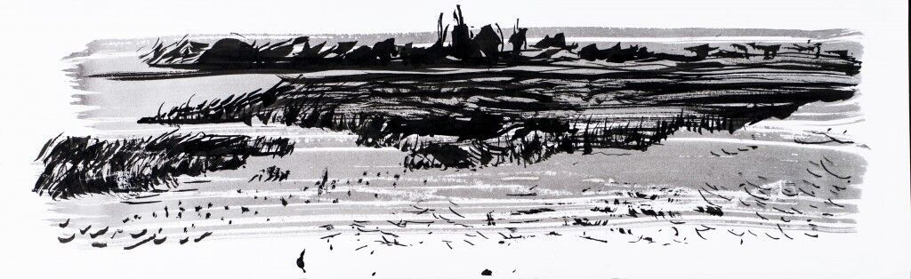 Towards Rye Harbour ink study