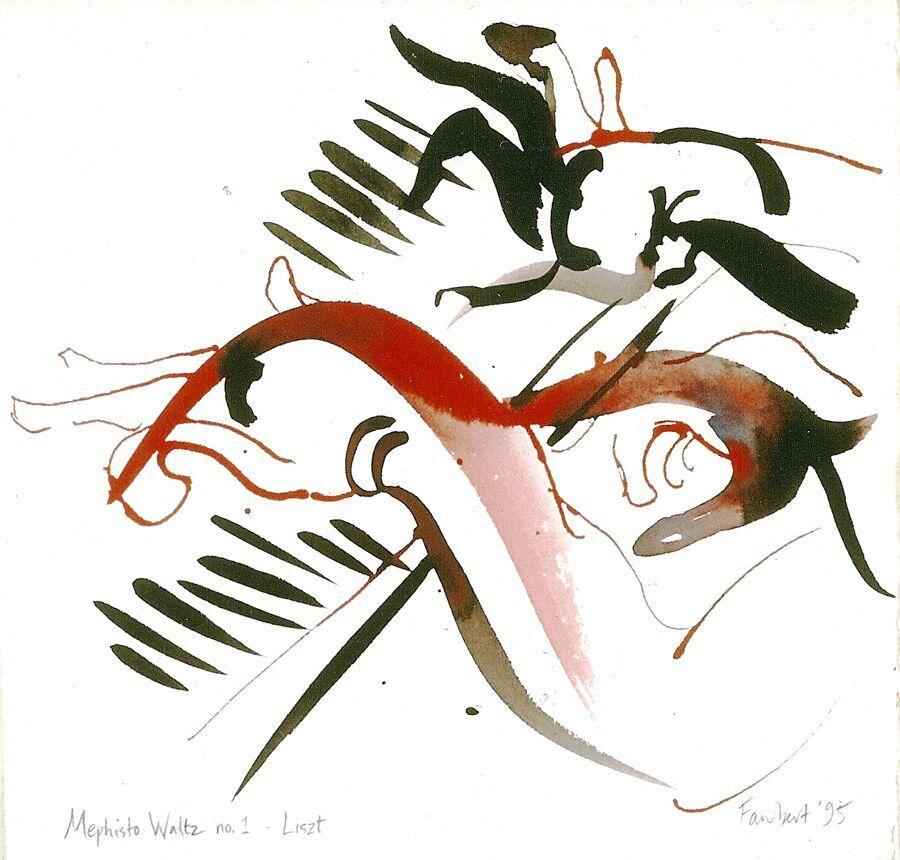 Mephisto Waltz No-1 Liszt