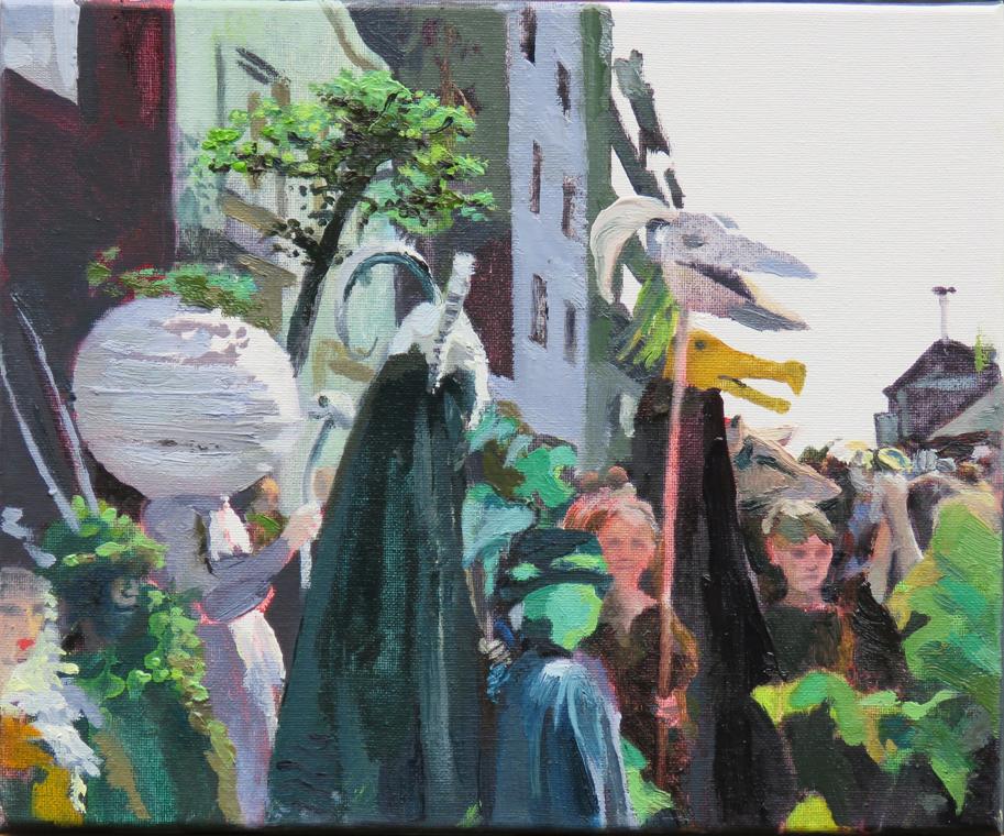 'Green Man' 30 x 25cm -£250