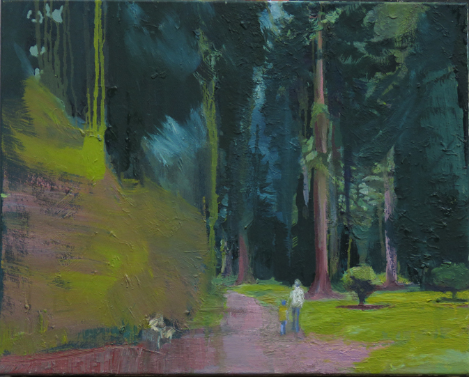 Walk in the Woods, 50 x 40cm -£650