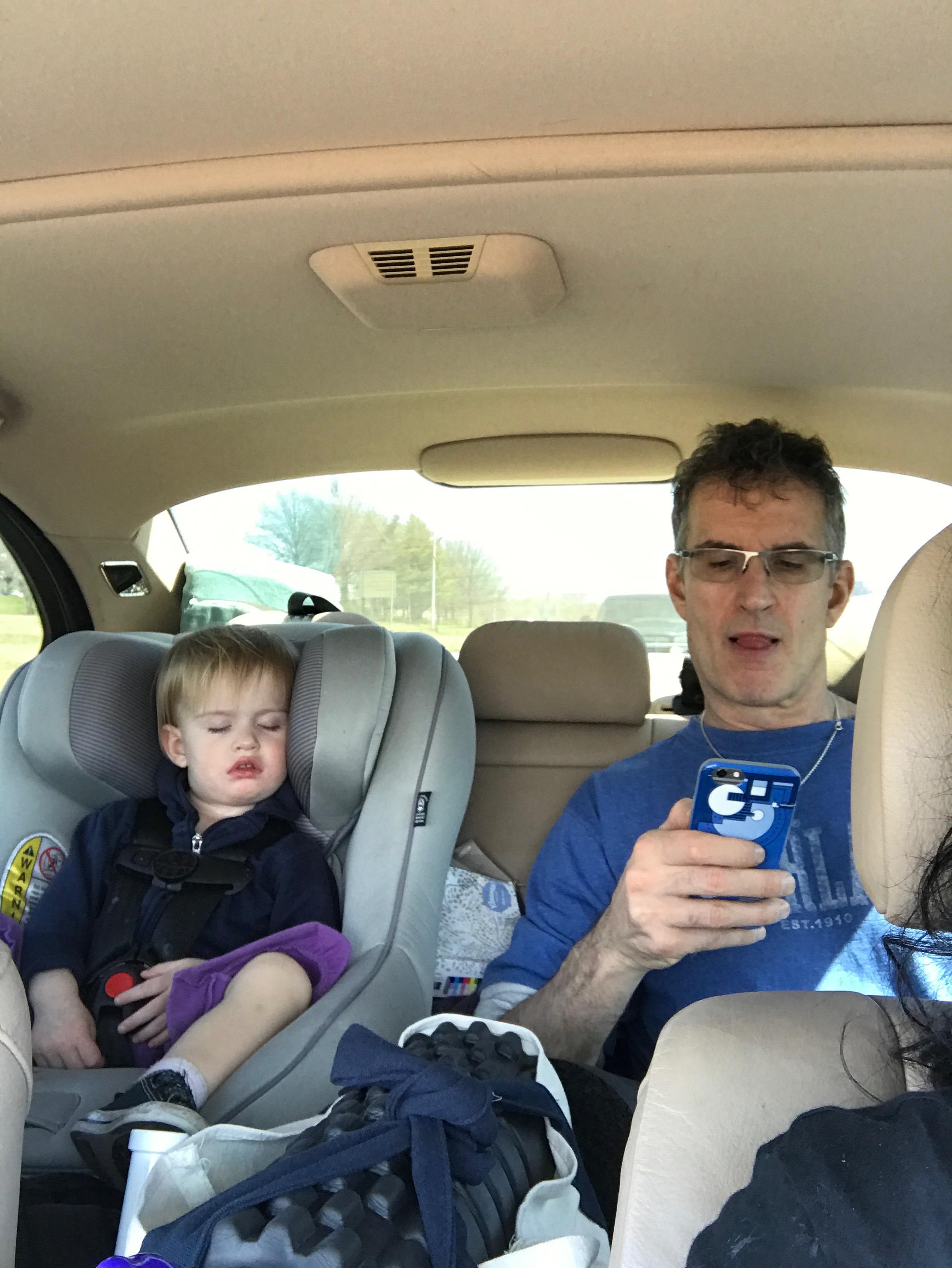 Back seat buds.