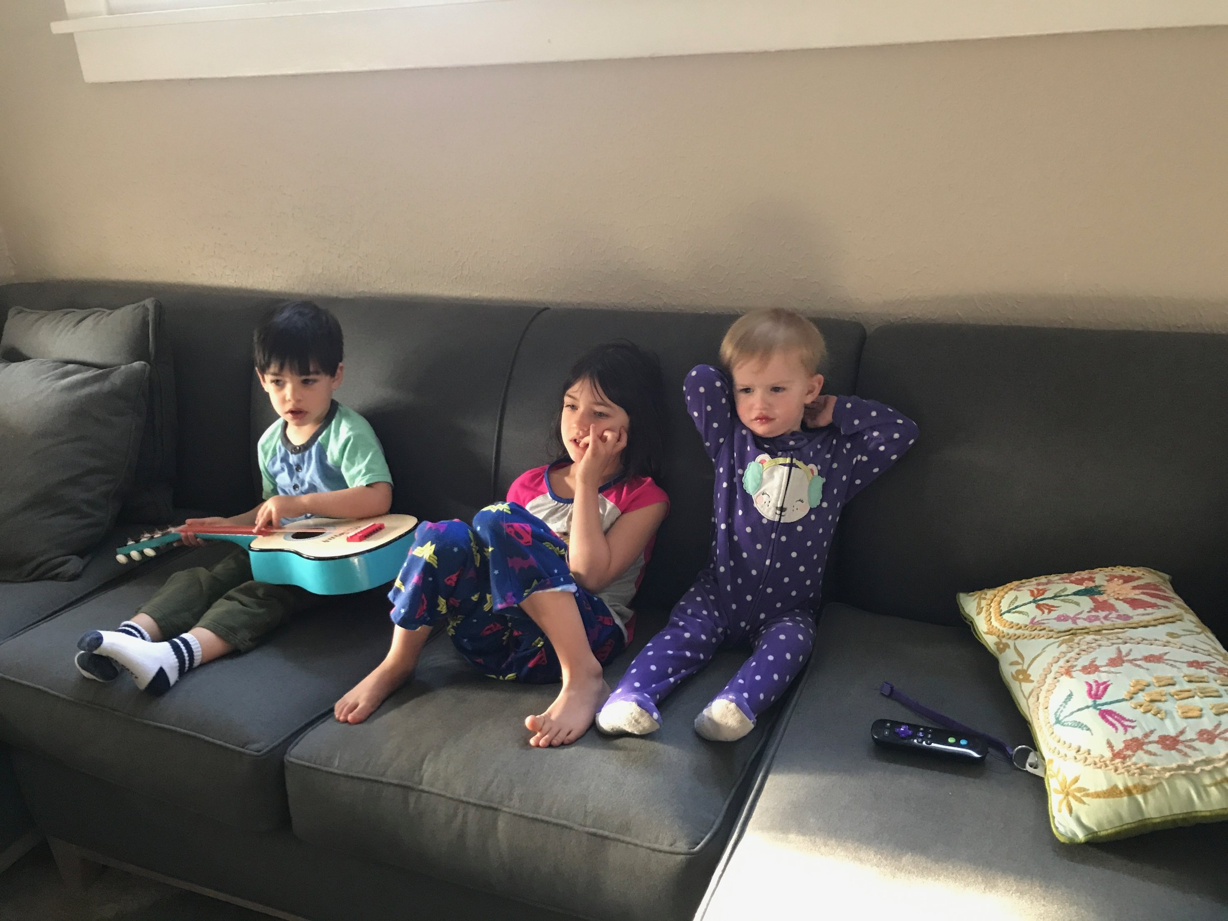 Mornings with cousins are the best. We were lucky enough to have 5 weeks of them. A huge thanks to my sister and brother in law for housing us until our stuff arrived!
