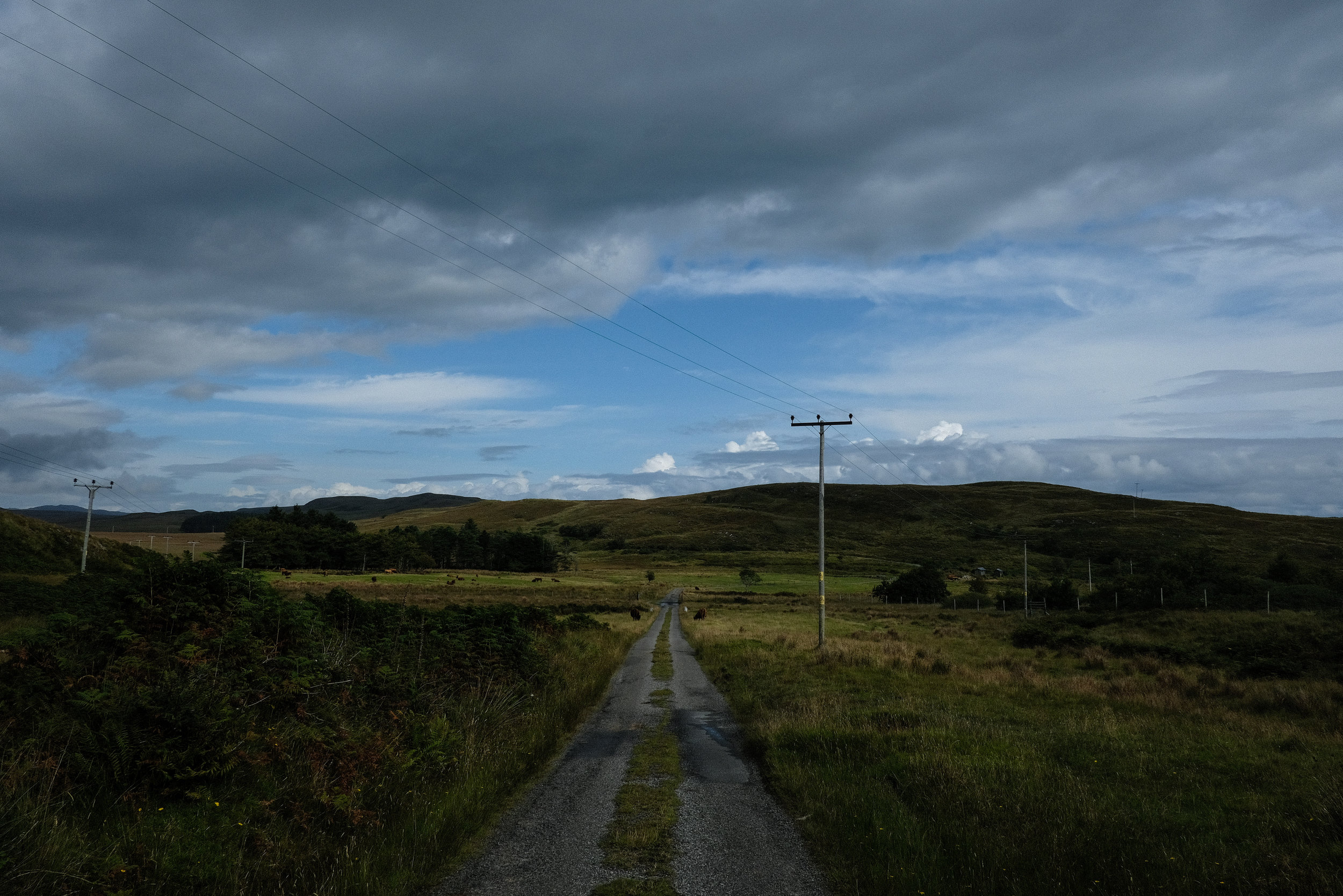 Jura, which is twice the size of the island of Manhattan, has one road.© Adam McCauley | 2017
