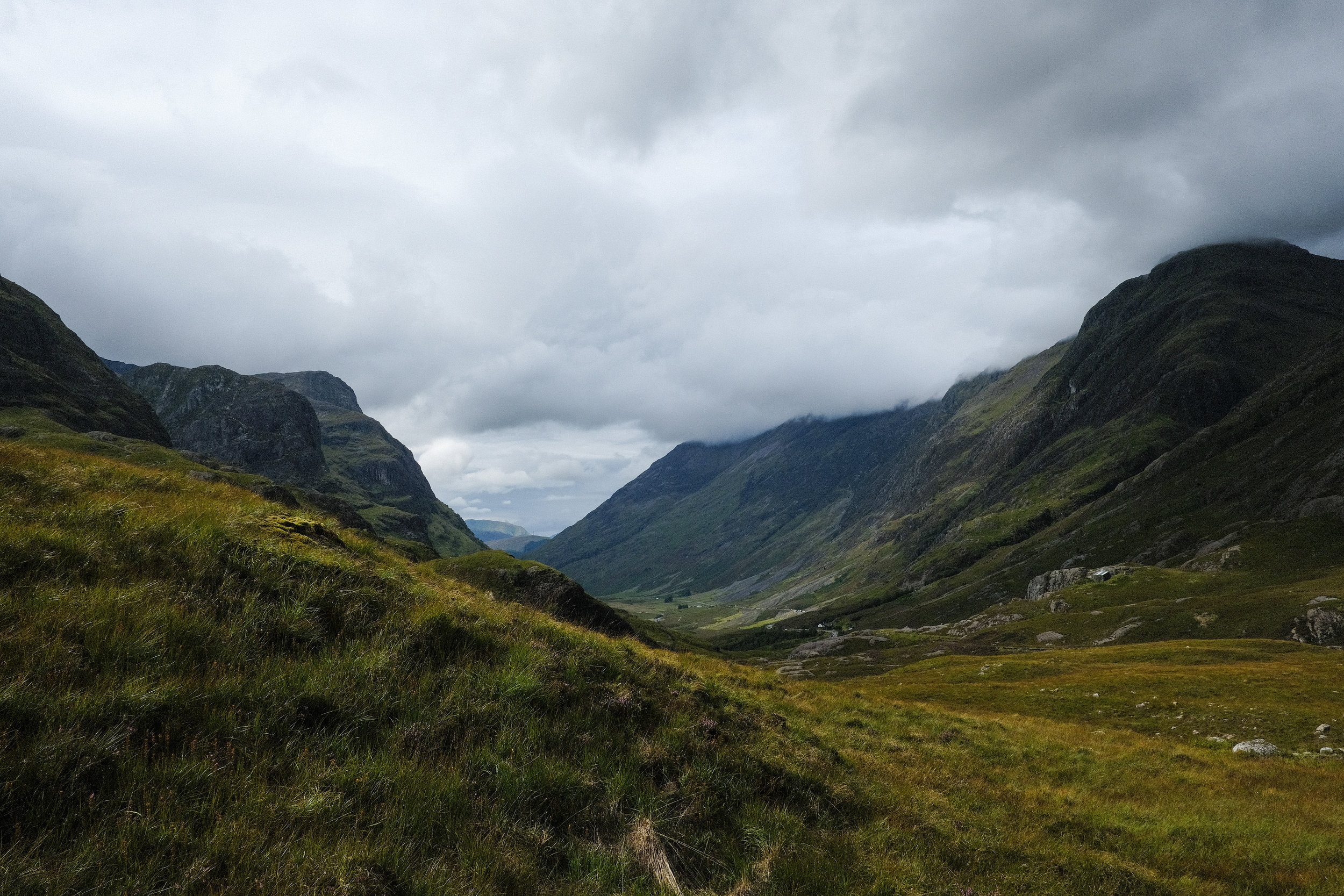 The escape from Jura took me down through Glencoe where the A82 cuts through the spectacular hills, known as the Three Sisters. One of these sisters features Bidean nam Bian,the highest point in what was once Argyll county.© Adam McCauley | 2017