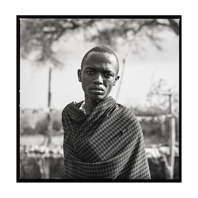 Tanzania | He explained that he just got home from college in the city and now lives back in the village he grew up in