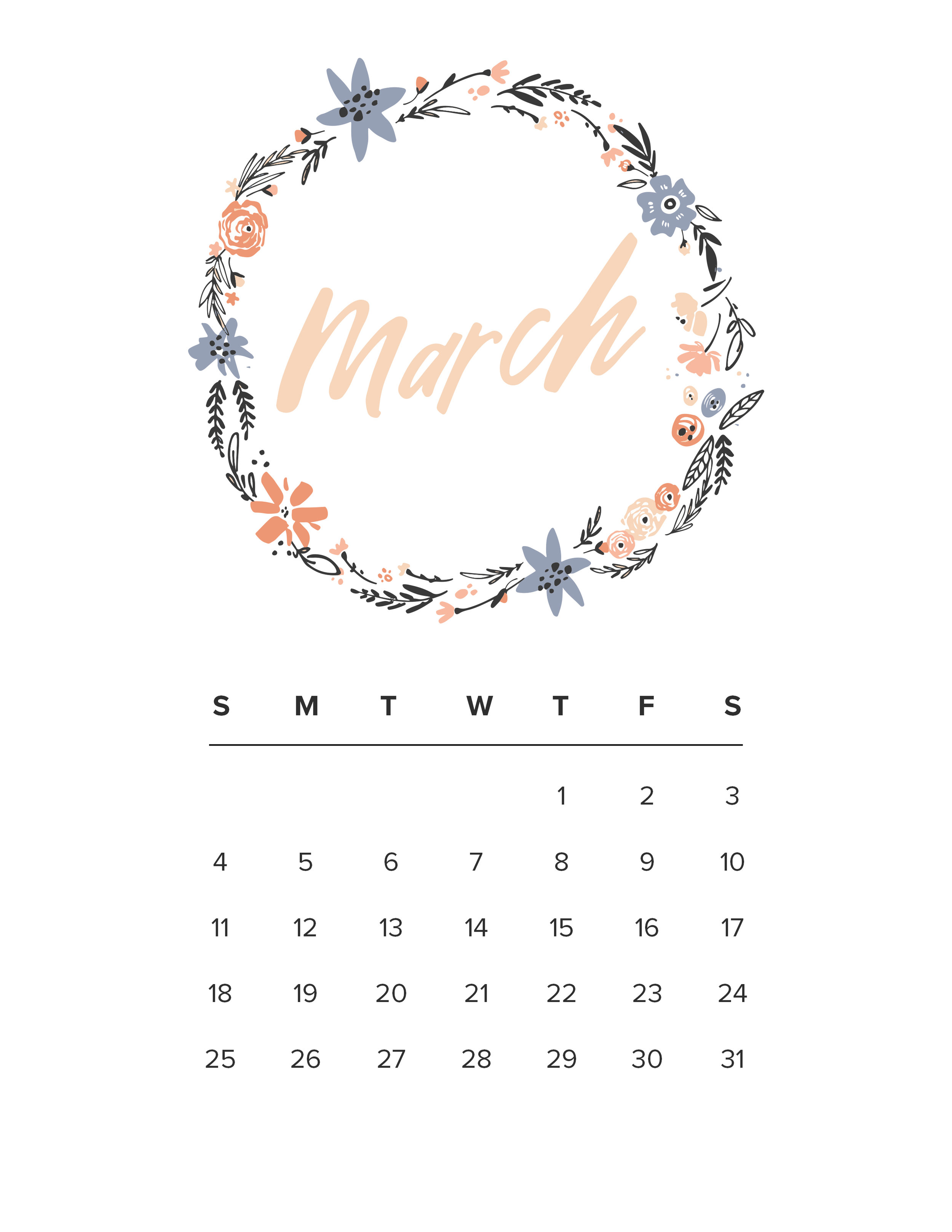 Jen Wagner Co. | March Calendar.jpg