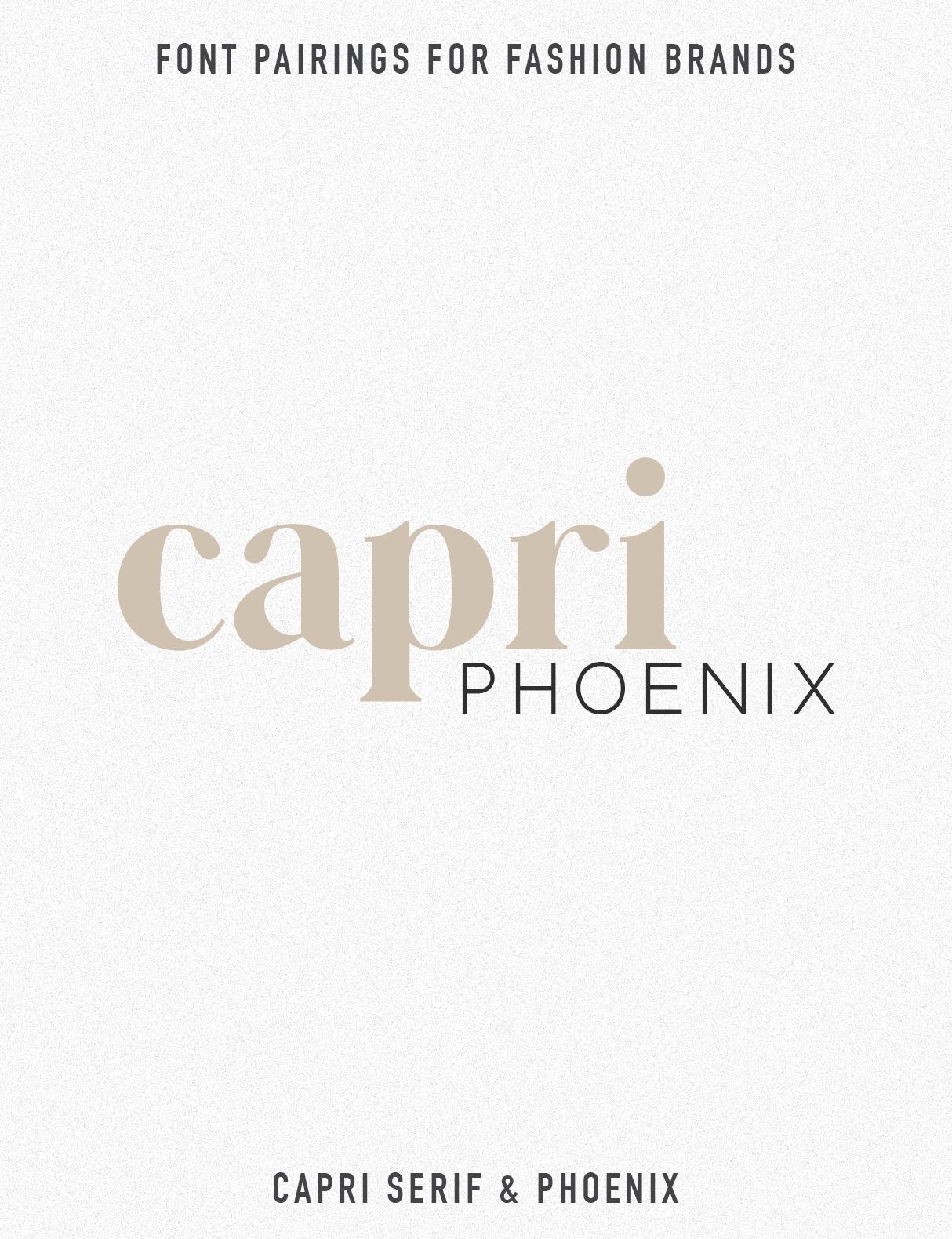 Jen Wagner Co Fashion Brand Font Pairings | Capri Phoenix.jpg