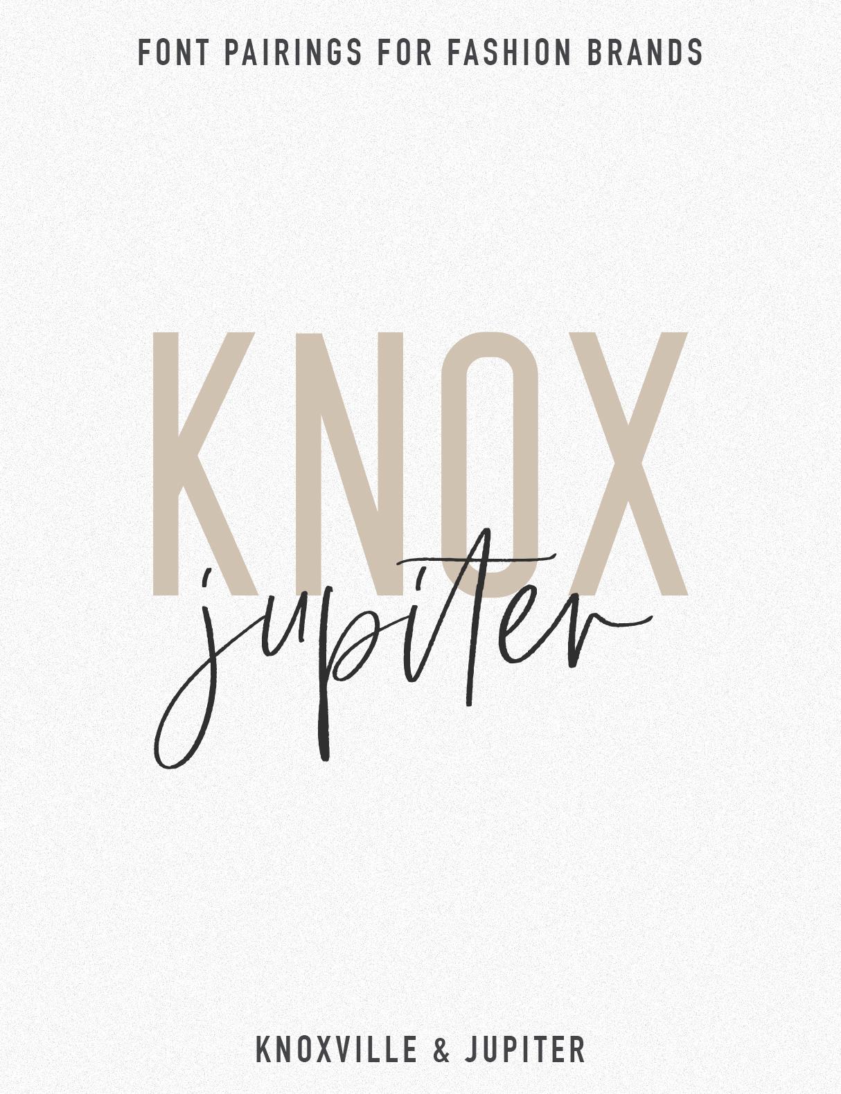 Jen Wagner Fashion Brand Font Pairings | Knoxville Jupiter.jpg