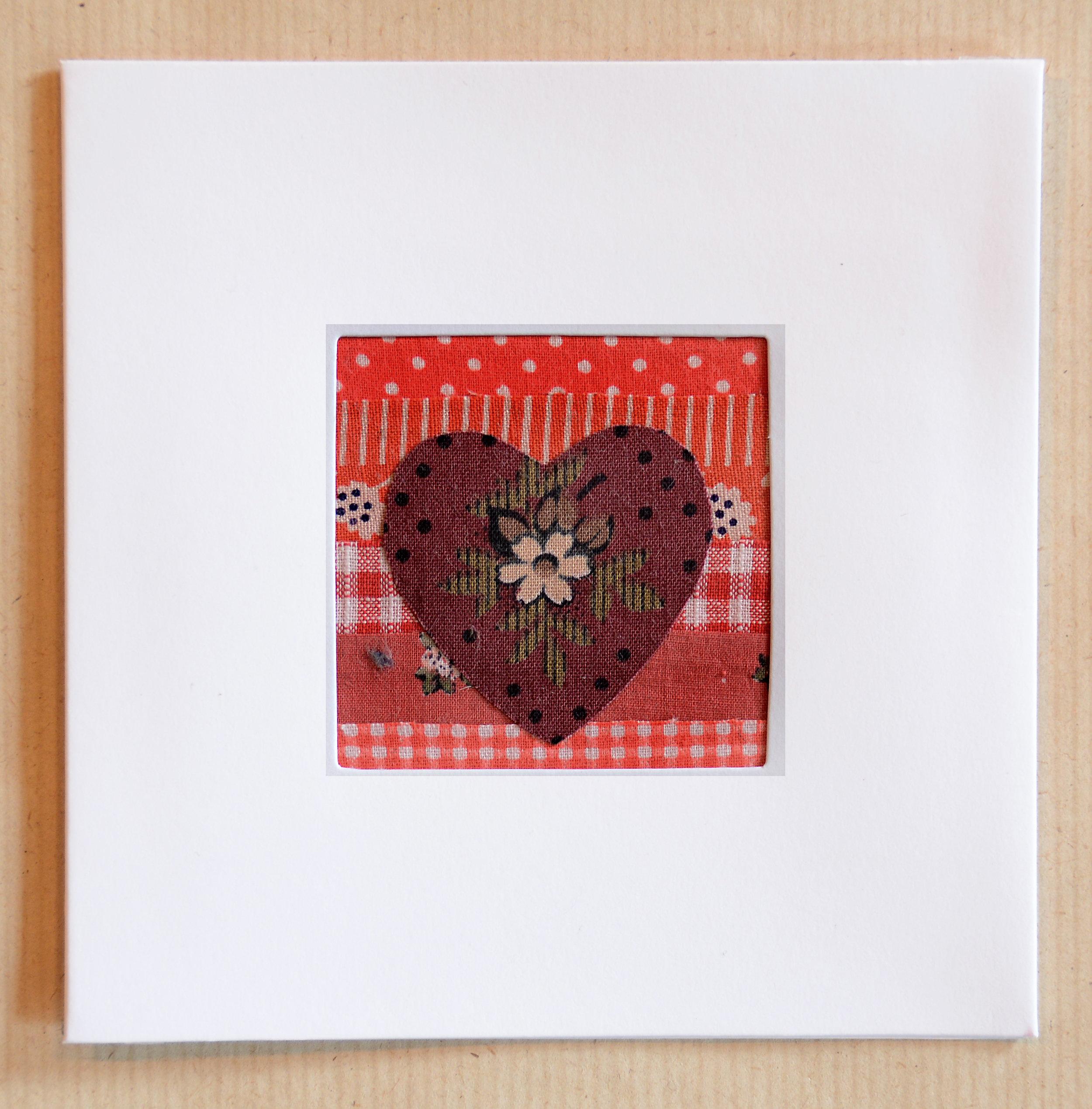 No:1     Heart greeting card.