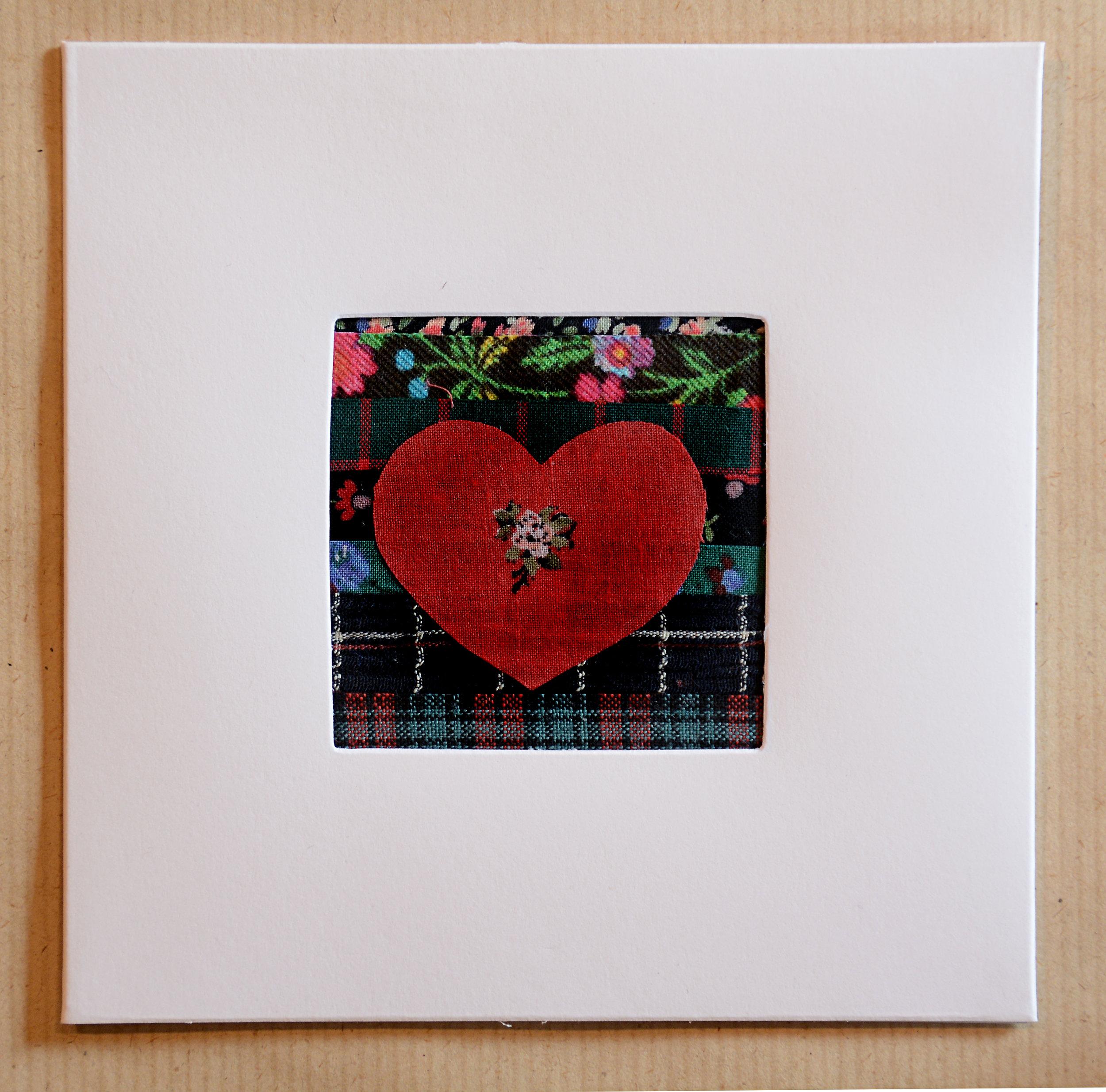 No:7    Heart Greeting Card