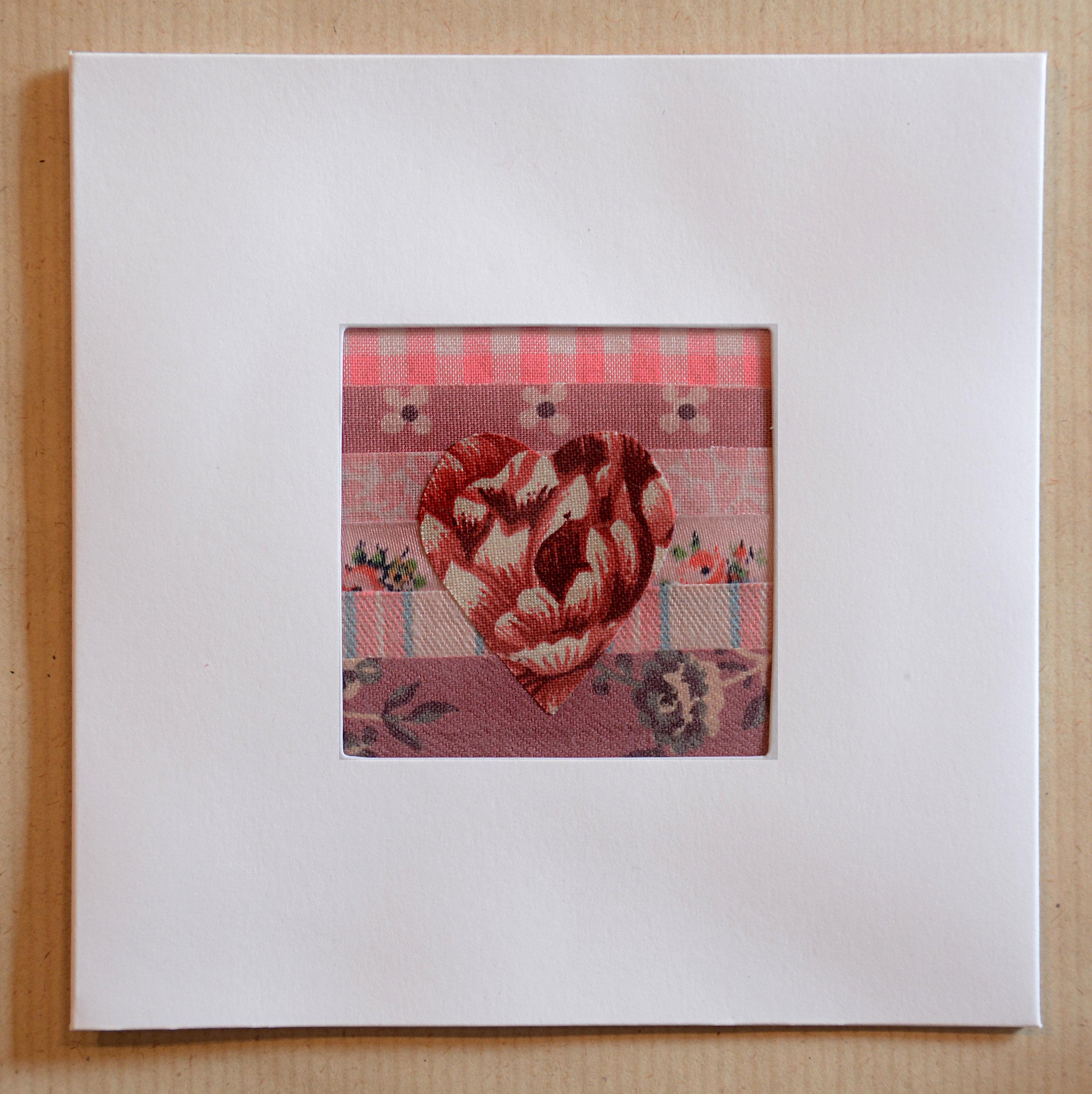 No:8    Heart Greeting Card
