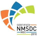 A certified Minority Owned Business affiliated with the National Minority Supplier Development Council (NMSDC).