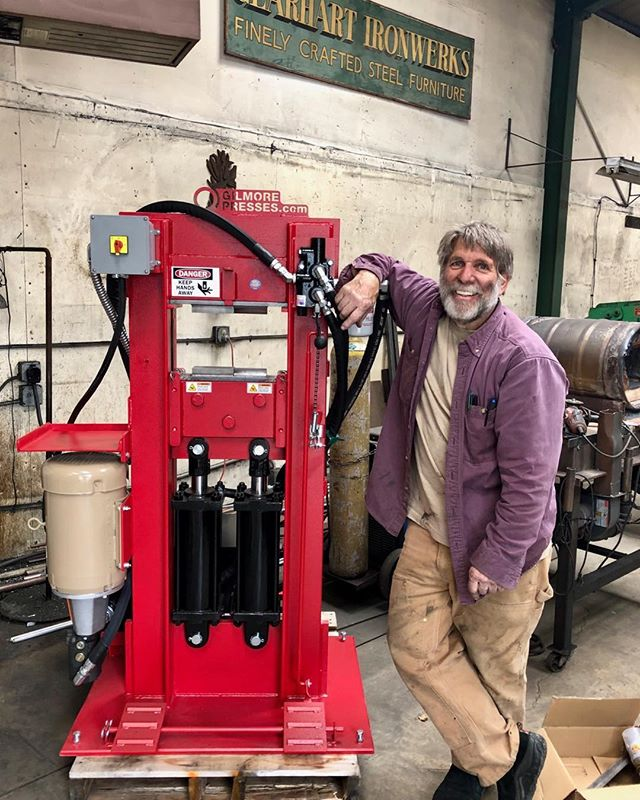 Santa Glenn Gilmore came early this year. So excited to use this beautiful piece of equipment. More anxious now to get the new shop finished.