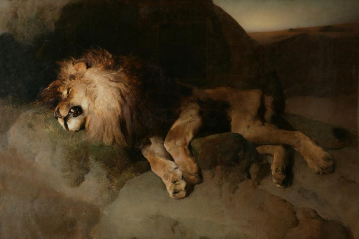 Edwin Landseer R.A.  The Desert  1849 © Manchester City Galleries