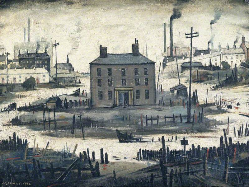 L.S. Lowry  An Island  1942  © the estate of L. S. Lowry