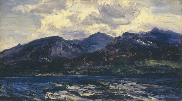 Arran [Across Kilbrannan Sound] 1894, Henry Moore R.W.S., R.A.  ©  Manchester City Galleries   Currently on display in Gallery 8