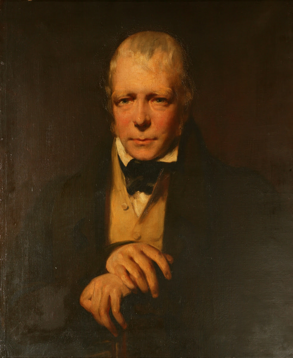 Sir Walter Scott, John Watson Gordon, Smith, Colvin (formerly attributed to)© Manchester City Galleries  ''created the Victorian vision of Highland Scotland through his romantic poems and novels. This led to a century-long Scottish tourism boom''   Currently on display in Gallery 8