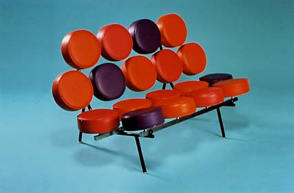 Marshmallow Love Seat  (1954=1955)Herman Miller (Manufacture), Harper, Irving & Nelson Associates (Designer) © Manchester City Galleries