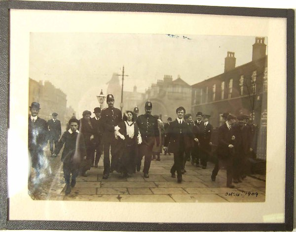 The Arrest of a Suffragette in Oxford Road  © Manchester City Galleries