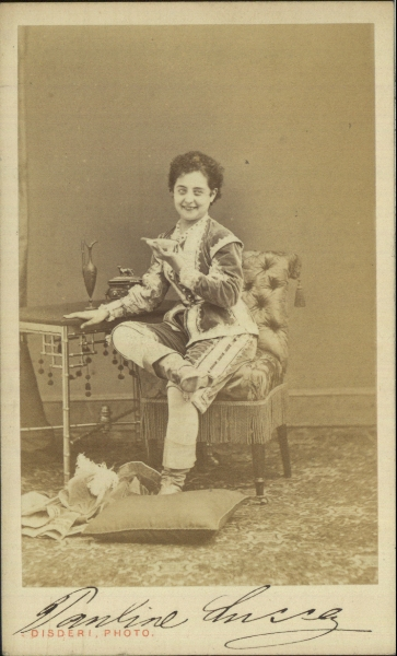 Carte-de-visite photograph  Disderi & Cie (photographer) © Manchester City Galleries