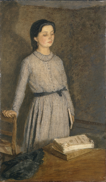 The Student  (1903) Gwen John © Manchester City Galleries  Currently on display on the Balcony Gallery 1st floor