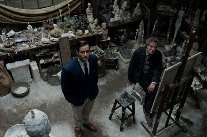 Armie Hammer and Geoffrey Rush / © Parisa Taghizadeh
