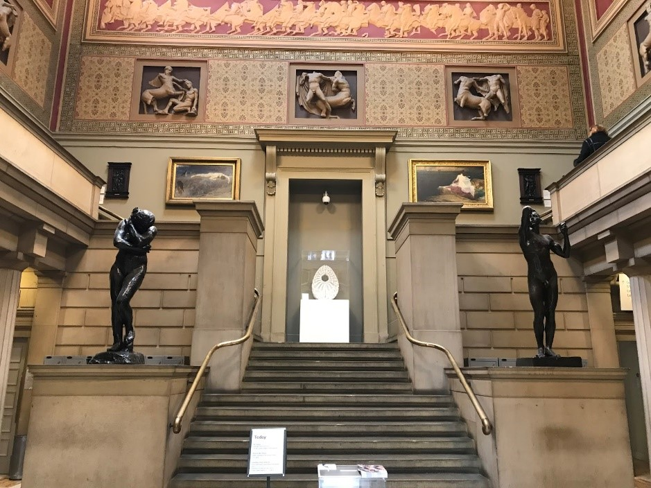 Manchester Art Gallery- Main Entrance facing Moseley Street
