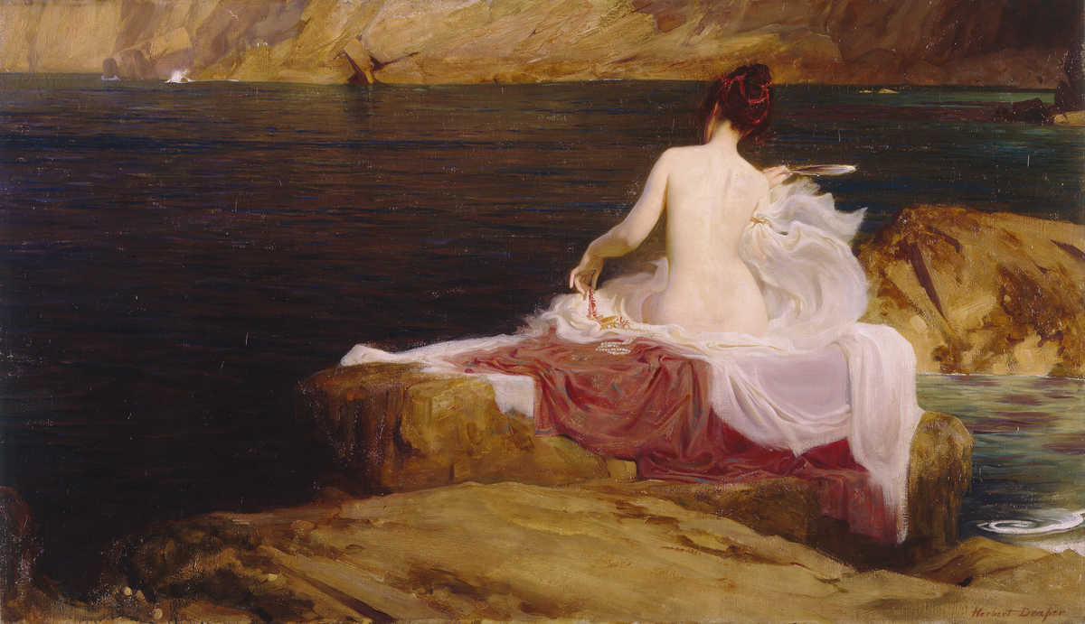Calypso's Isle  (1897) James Herbert Draper