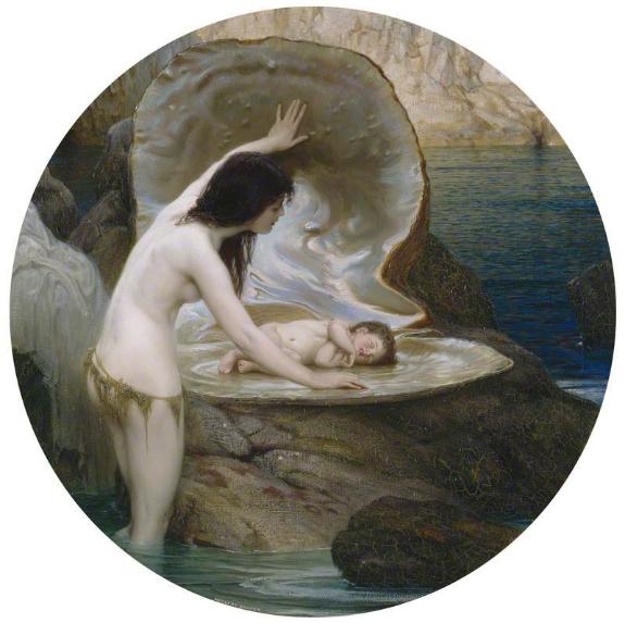 A Water Baby  (1900) Herbert James Draper