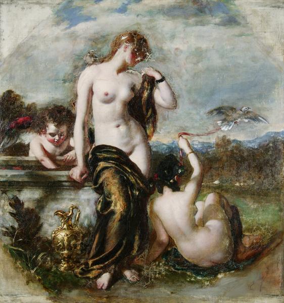 Venus and Her Doves (1836) William Etty
