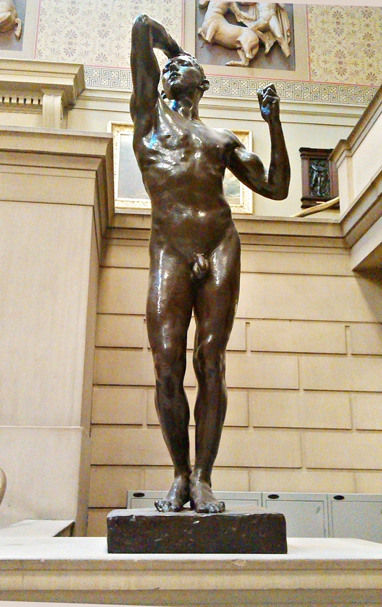 Age of Bronze  (1911) by Rodin