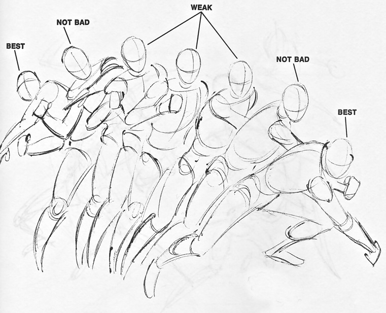 How to Draw Comics the Marvel Way  © Stan Lee and John Romita