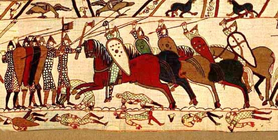 Bayeux Tapestry / credit: Wikipedia