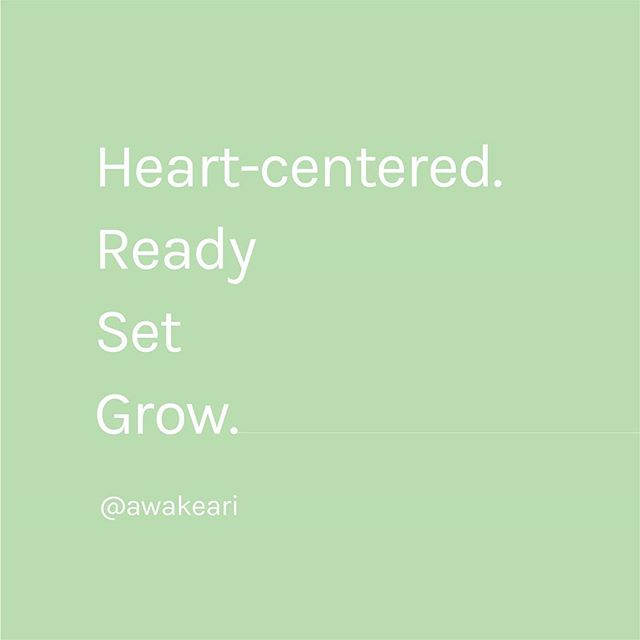 Begin with the heart in each conversation, each message, each project, each action. ✨ All else will follow.