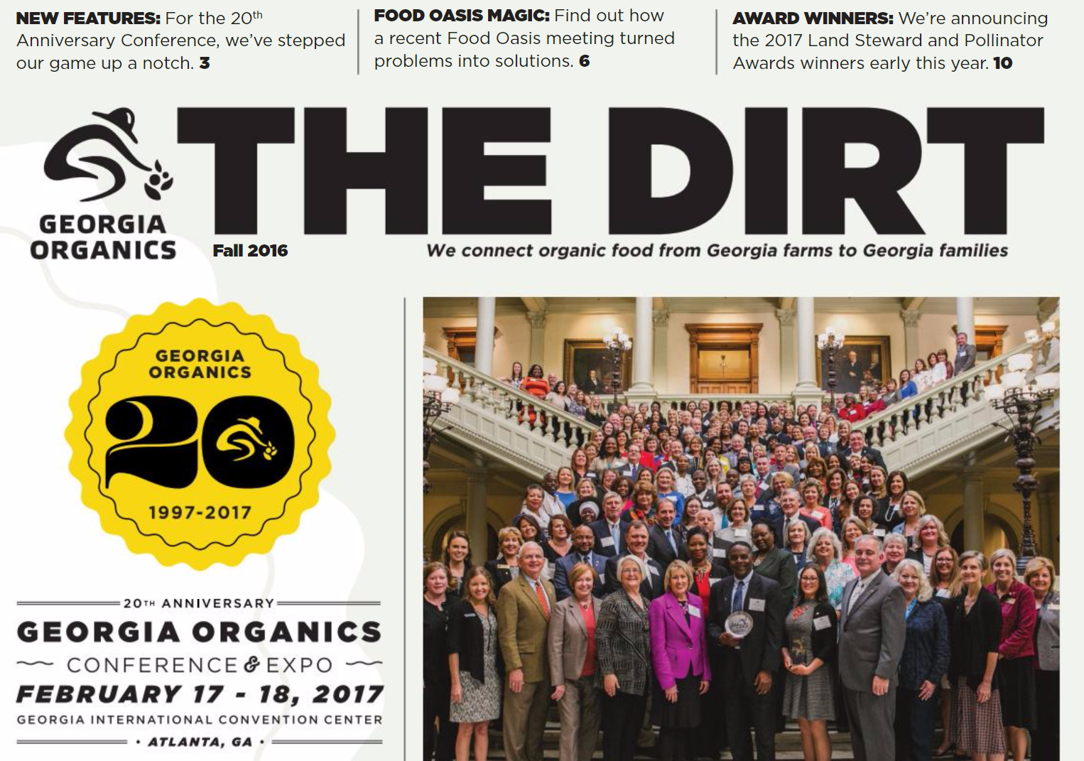 Click here to read the full edition of The Dirt.
