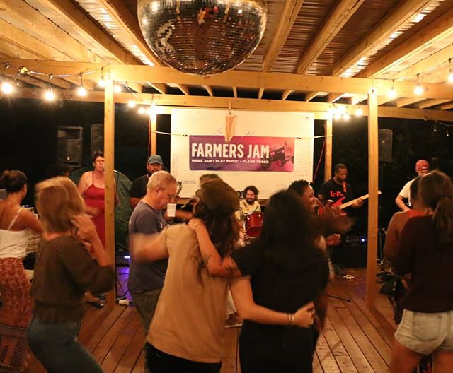 Thank you to everyone who blessed the dance floor with us last night! 🌕🍑❤️ #fullmoonfarmersjam #farmersjam
