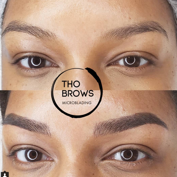 "- We have all spent most of our lives tweezing, waxing, threading, filling, drawing on, hiding scars and trying to achieve that perfect arch or that perfect shape.There are many factors that can affect our eyebrow hair growth including age, over tweezing, scars, chemotherapy, alopecia, etc.Choosing Microblading alone or doing a combo brow comes down to what you are looking to achieve.If you are just wanting to create a natural light hair stroke look then Microblading alone is the route to go. Microblading alone will not achieve a ""makeup look"", it's meant solely to create ""little hairs"" but also give you the ability to add makeup for a more dramatic look. If you are wanting darker, fuller more of a ""makeup look"", long lasting brow, then a combination brow is what you are looking for.Combo Brow – What is it?This technique uses the stroking method to create ""little hairs"" but also uses a shading technique for more density. This look will still appear natural and but it will be darker and fuller.Since Microblading alone will never give you the ""makeup look"", implementing shading with the strikes, you can say goodbye to that eyebrow pencil.We keep it soft for every day, so that you can still add makeup to it for a more dramatic look!Shading typically lasts longer than Microblading (may last up to 2 years) as it uses more pigment throughout the eyebrow. If you are looking for longevity with less touch-ups shading would be the recommended method. It works best with oily skin type since oily skin tends to fade quicker with microblading. Shading technique will help with pigment retention.However most people are fearful of this method looking too solid or unnatural. Permanent makeup has come a long way and is constantly advancing. This new shading method won't be solid, dark and saturated like the older permanent makeup we see.Credit : blisscosmetic."