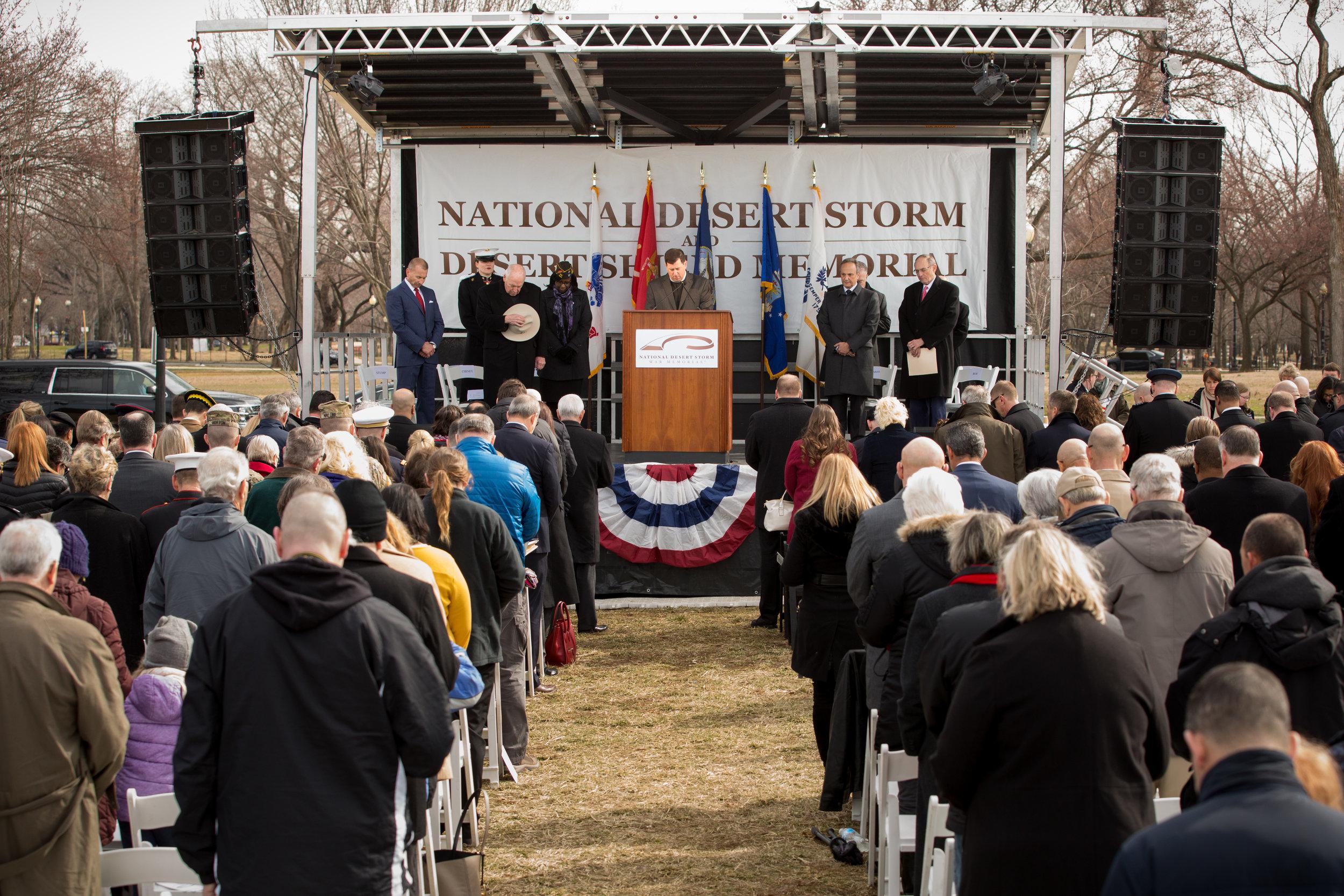 Site Dedication Ceremony in Washington D.C. (Feb 26, 2019)