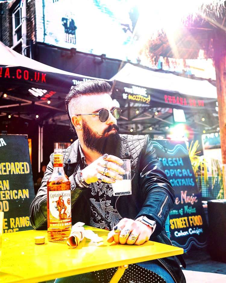 Captain Morgan - Matt was given the nickname 'Captain Karaoke' for the #LikeACaptain campaign with Captain Morgan. Matt posted content to Instagram and swipe up on Stories where people could purchase their own personalised bottle of Captain Morgan's rum.