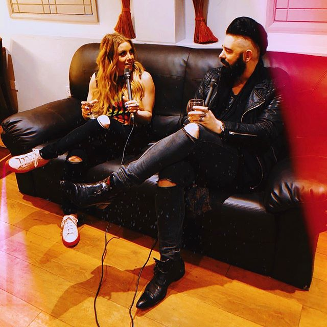 Really excited about this week's episode where @lindsayell tells us all about the journey. Recorded in her dressing room at the Hammersmith @eventimapollo. Out tomorrow! 🎧