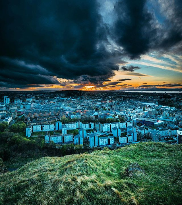 Heading up to @edfringe in a few days. Last time I was in Edinburgh, I took this photo. I was part of a @alanfletcher's crew as he was filming his TV show Photo Number 6. It'll be aired here in the UK soon. 🎥 We'd just flown in from Iceland and the landscape photographer in me was loving life. Anyone know where I took this from? 👀 . . . #edfringe #edinburghfringe #edinburgh #music #comedy #festival #scotland