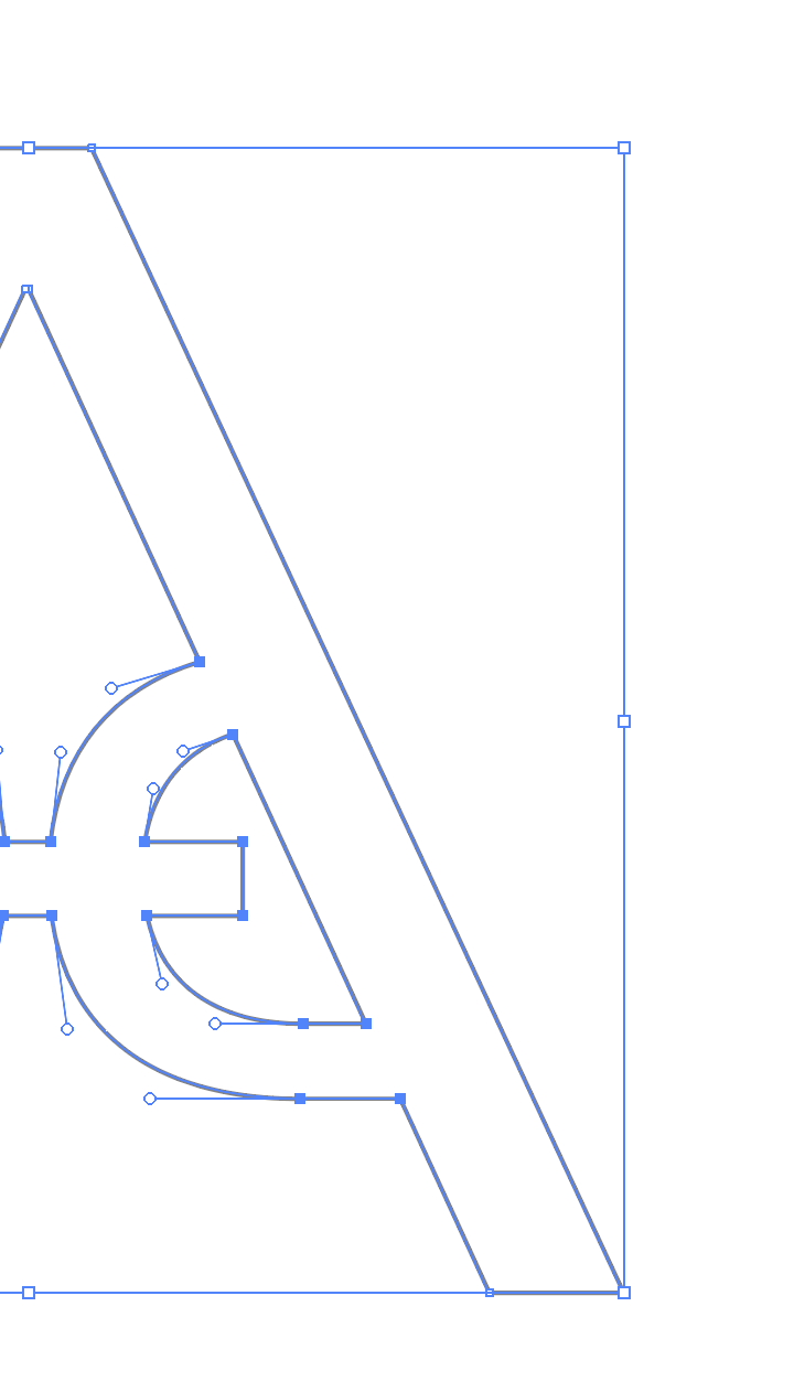 Working in vector allows infinite scaleability and precision in design.