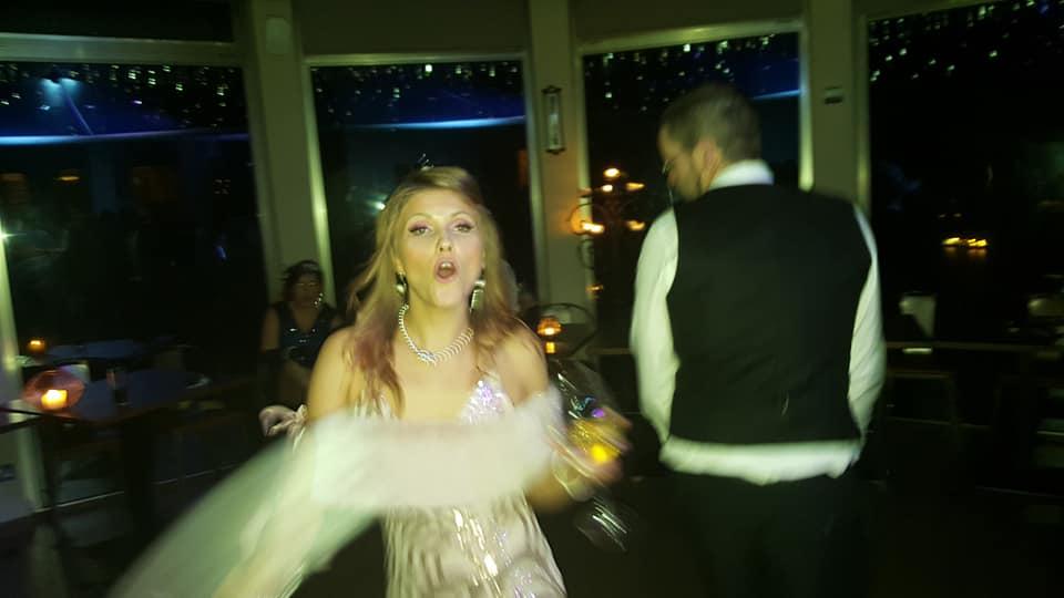 Dancing, dancing and dancing.
