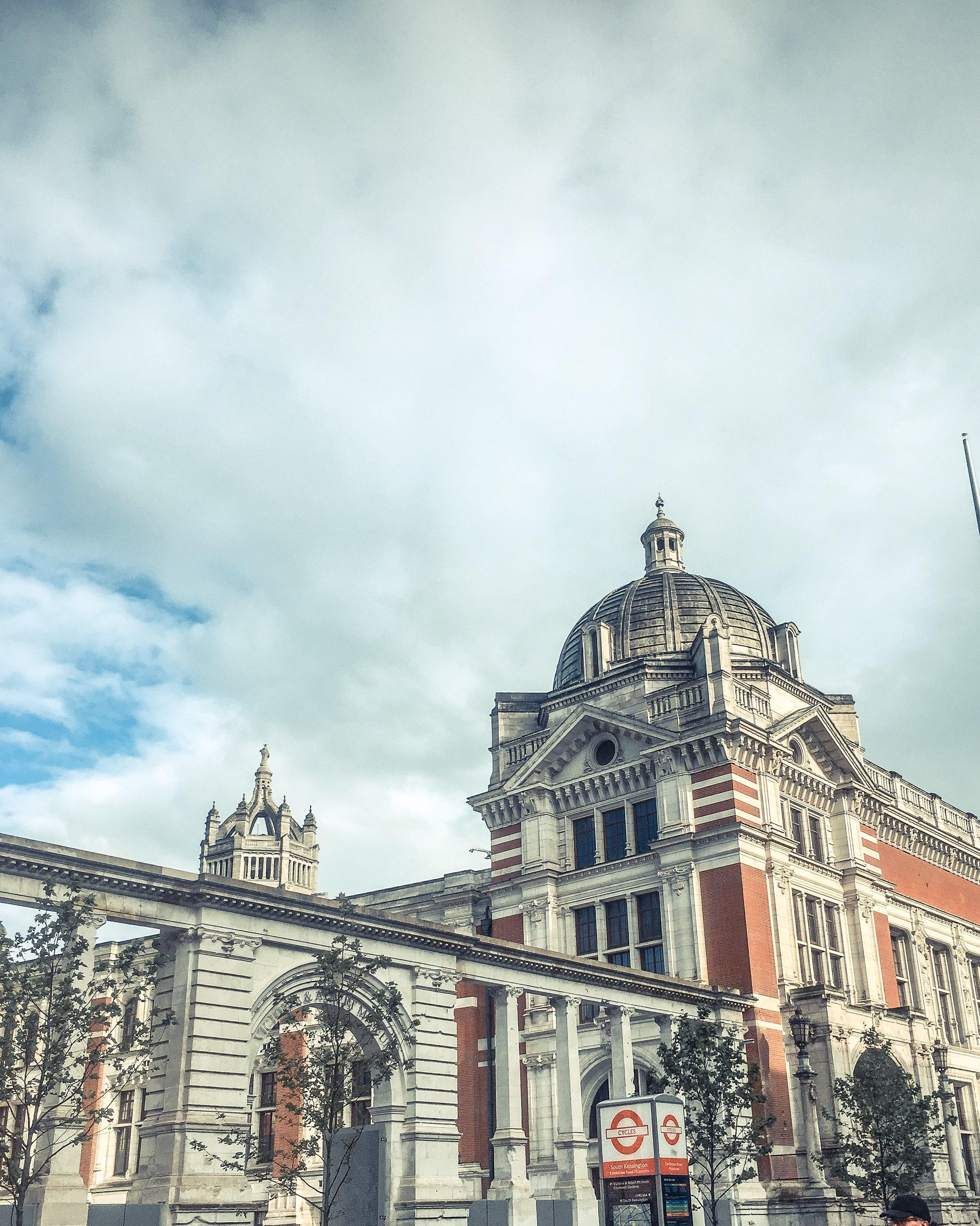 Victoria and Albert museum.